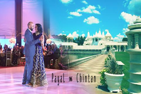 Indian wedding couple, Atlanta wedding video